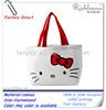 hello kitty canvas tote bag