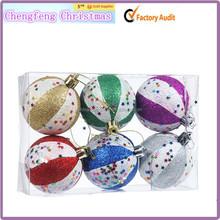 fashion smoke Ball christmas ornament christmas ornament export