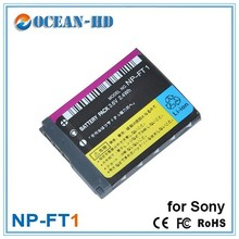 3.6v video camera accessories battery NP-FT1 for Sony
