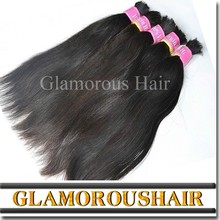 Wholesale top quality Chinese virgin straight human hair bulk accept paypal