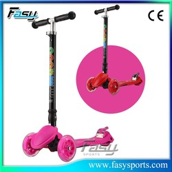 Fasy Cheap Kids Kick Scooter For Sale with Ajustable Handlebar Height Function