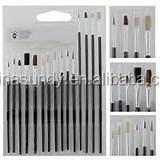13pcs/ Set China Bulk Wholesale Art Supplies Paint Brush Set , Artist Brush, Paint Brush
