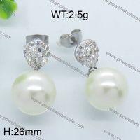 Popular Products In USA Custom Design Jewelry micro pave silver earring rain drop shape