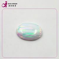 wholesale Colorful beauty oval shape faceted Opal kawaii cabochons