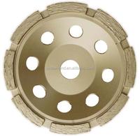 Abrasive Tools/ 4''-9'' Concrete Single Row Diamond Grinding Cup Wheel