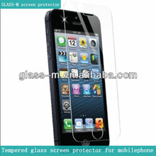 Cell phone covers -tempered glass screen protector for iphone5/5C/5S(china import)