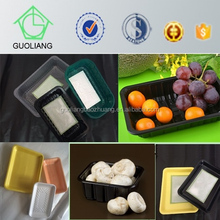 China Globle Wholesale Safety Food Grade U.S Market Popular Disposable Plastic Compartment Frozen Food Box Packaging
