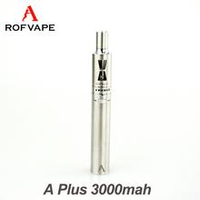 Rofvape A Plus 3000mah pen mods seckill disposable e cigarette 510 battery wholesale vaporizer