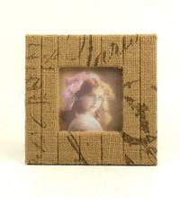Handmade Fabric Photo Frame
