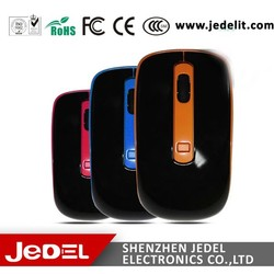 Wireless Silent 4 Button Optical Mouse DPI Adjustable