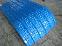 prepainted galvanized steel tile in metal building material