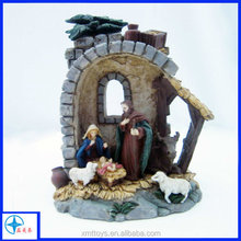 Resin Baby Jesus Figurine for Home Decoration