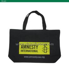 wenzhou OEM custom cotton tote shopping bag