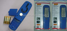 handheld 24 led work light with hanging hook and strong magnet
