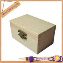 Yunhe Jieyi small handmade unfinished jewelry wood box