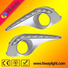 Newest design led drl light car tuning light for toyota highlander 2012-2014
