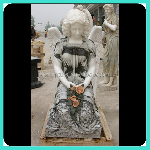 large marble angel statues