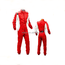 2 layer fireproof nylon racing wear and racing coverall