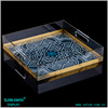 Guangzhou Manufacturer clear plastic serving tray from Satom