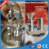 Trade assurance! High performance apple jam making machine / colloid mill bring water cooling system