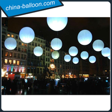 Party event inflatable led hanging balloon for promotion