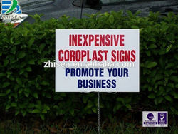 United States Outdoor PP Corflute Sheet signs/Coroplast sheet/Correx Board manufacturer