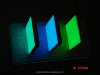 colorful patterned glaze glow in the dark tile