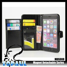 Best selling products mobile phone accessories leather case with magnetic Pu flip stand cover case for iphone 5