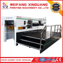 1050mm bobst technology automatic label die cutting machine with stripping