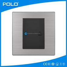 86-X1 wholesale door bell new design hotel doorbell hot black stainless doorbell