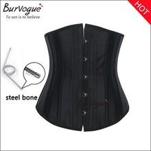 High quality women waist slimming corset supply steel boned back suport corset strapless body training shaper in stock item