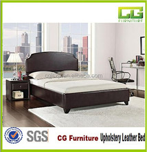 Latest Design Alibaba Express Hot Sale Modern Faux Leather Furniture Bed