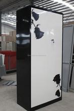 Stainless flat pack furniture steel Luoyang used steel kids metal double door locker shower rooms, metal furniture file