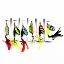 Chentilly03 7.71g 6 in 1 Quality Spinner bait Inline Spinners Bass Fishing Tackle Fishing Bait Fishing Gear