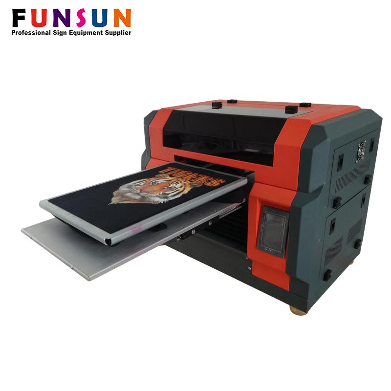 Funsunjet A3 tamanho da impressora dx5 cabeça 1440 dpi falando da pétala da flor falando flor impressora impressora uv
