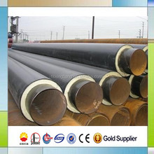 underground chilled water supply PUR insulated pipes for cooling pipeline system