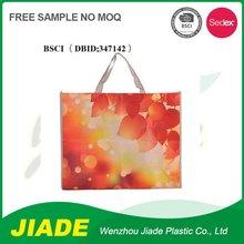 Custom non woven bag rectangle/printed opp film non woven bag/polyester non woven bag