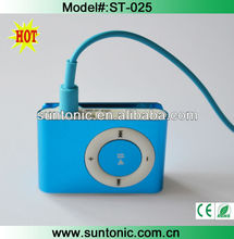 Most hotselling mp3 with tf card slot and good factory price
