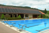 black Polypropylene swimming pool solar collector for Australia sale