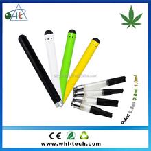 Manufacture supplier open vape cbd atomizer wax oil cbd pen .4ml .8ml extract oil vapor pen