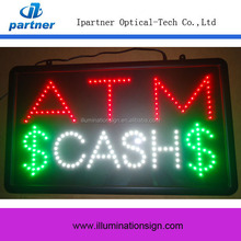 The good quality and the high volume of sales Factory Price ATM Led Sign
