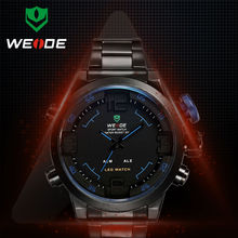 New 2014 WEIDE men's watches high quality best sellers of aliexpress LED Watch Men Quartz Clock Waterproof Military WH2309