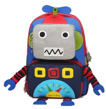 Personalized Toddler Boy Robot Backpacks Preschool Backpacks