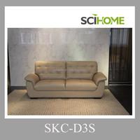 Korea sofa furniture three seater heated leather sofa leather couch