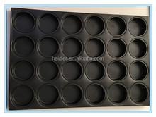 teflon coated hamburger baking tray / bun baking tray