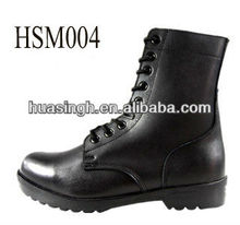 DH,6 inch black waterproof first grade assault duty used military police boots