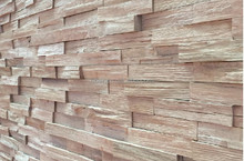 Interior composite wall decorative panel with modern 3d design