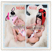 2015 New Sale Free Shipping Cartoon Baby Winter Hat Animal Knitted Hat Children Warmer Caps Baby Crochet Hat