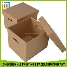 Chinese Factory Custom Kraft Foldable Storage Box