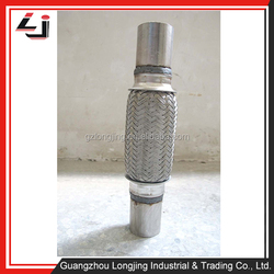 Trading Company Guangzhou Auto Parts Auto Flexible Exhaust Pipe More than 100 different sizes for choosing